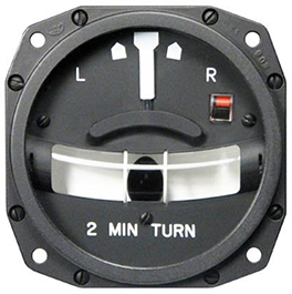 1234T100-3TZ Turn and Slip Indicator, Model #: 1234T100