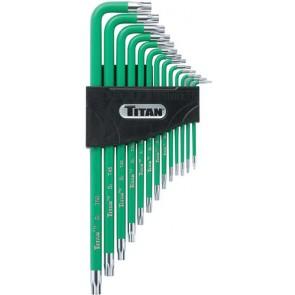 "Titan Extra Long ""L"" Wrench 13 Pc. Set TIT-12715"