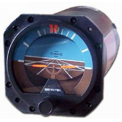 1U149-010-1, Model 5000B-37 Attitude Indicator, Air, 0°, Lighted