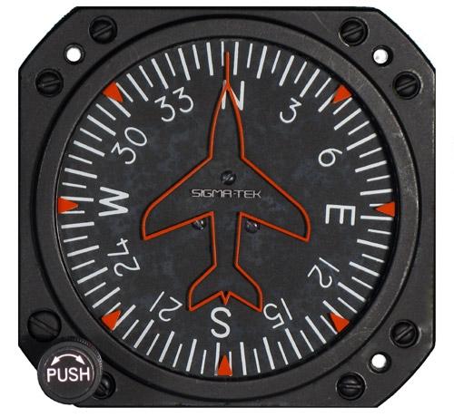 1U262-001-39, Model 4000B-30 Sigma-Tek Directional Gyro, Air