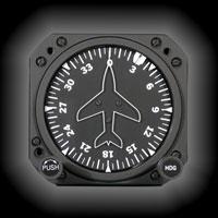 1U262-004-15, Model 4000C-1 / 52D54M Directional Gyro, Air, Autopilot, Lighted, CFS outputs