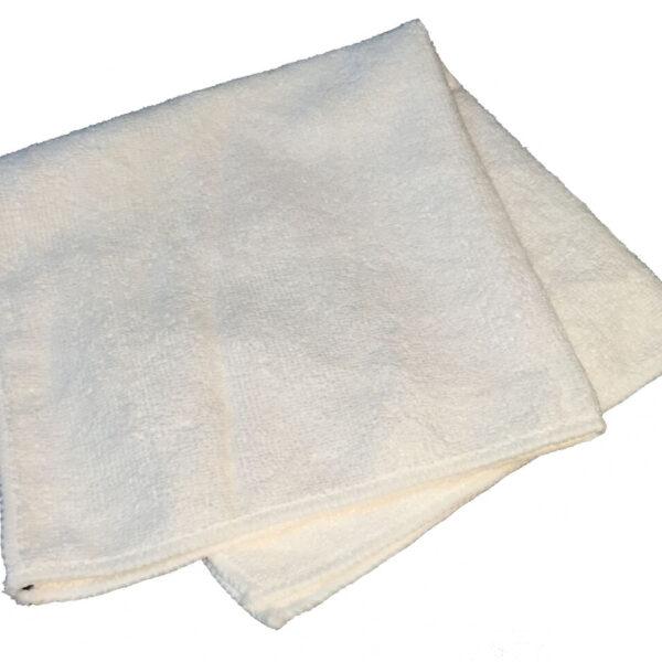 300 GSM Microfibre Cloth - White