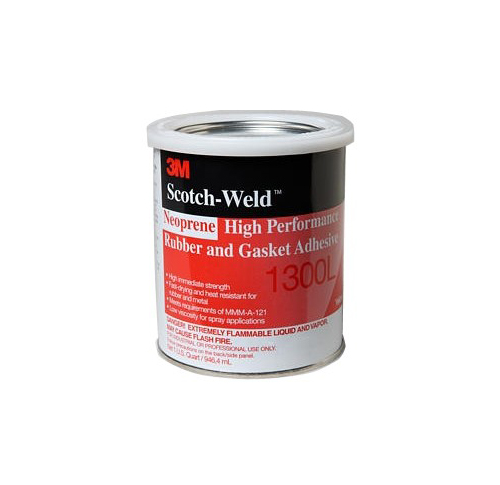 3M Scotch-Weld Neoprene High-Performance Rubber and Gasket Adhesive 1300L