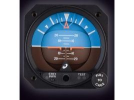 "4200-10, Model 4200 Attitude Indicator - 2"", Electric, Traditional symbolic aircraft"