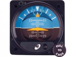 "4200-11, Model 4200 Attitude Indicators - 2"", Electric, Delta symbolic aircraft"