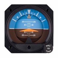 4300-202, Model 4300 Attitude Indicator, Electric, 10–32 VDC, 11°