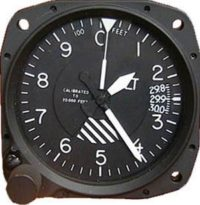 5934PA-3A.86, Model 5934PA-3 Altimeter - 35K, Inches, Unlighted