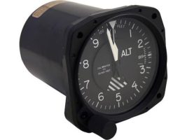 5934PD-3A.250, Model 5934PD-3 Altimeter - 20K, Dual scale, Lighted