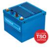 6430017-1, Model TB17 Aviation Battery, 26.4 VDC, 17 Ah, Lithium-ion, TSO