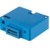 6430202-10 USB Charging Port, Model #: TA202, 10-32 VDC, Single Type-A, Bottom connector