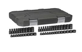 "1/4"" Drive SAE/Metric, Standard & Deep Impact Socket Set GW-84902"