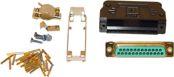 7014517, Connector Kit 25-pin D Sub Female