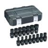"15 Pc. 3/8"" Drive 6 Point Standard Universal Impact Metric Socket Set GW-84918N"