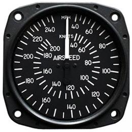 Airspeed Indicator 8025-B.167