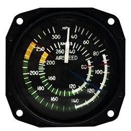 Airspeed Indicator 8030-B.168