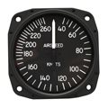 "Airspeed Indicator 8030-B.864, 3"", 0-300MPH/0-260 Knots"