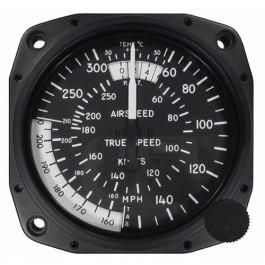 """Airspeed Indicator 8130-B.311, 3"""", 40-260 Knots"""