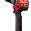 "Milwaukee 12V 1/2"" Hammer Drill/Driver Kit MLW-2404-22"
