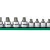 "1/4"", 3/8"" & 1/2"" Drive Tamper-Proof Torx® Bit Socket Set GW-80725"