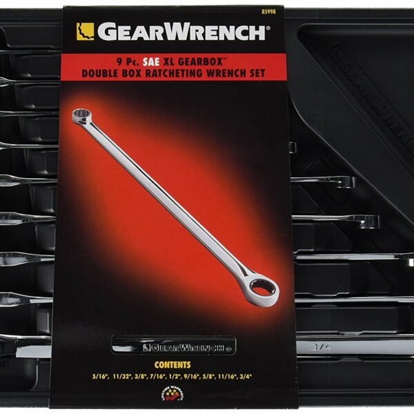 85998 Gearwrench 9 Pc. SAE XL Wrench Set