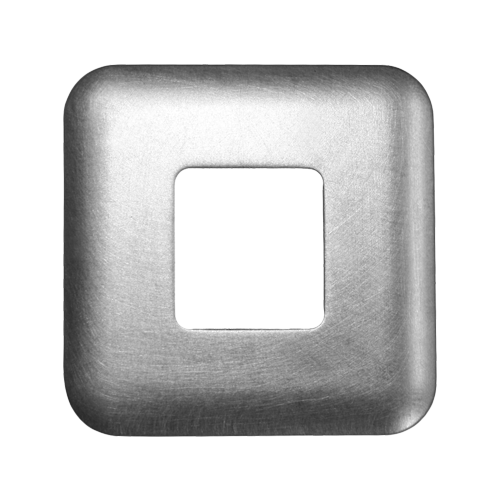 9017897, Front mount, Standard square cover plate