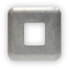 9017946 Front mount, Standard square cover plate For TA102 USB Charging Port