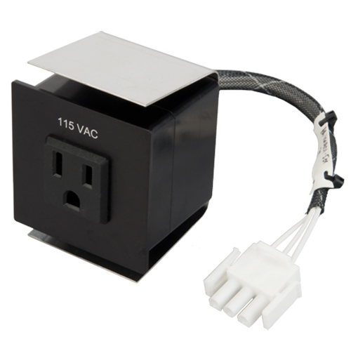 9018708-1 Outlet, 115V, AC, Three Prong