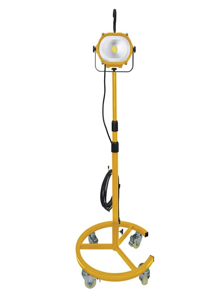ATD SABER COB LED Worklight with Wheeled telescopic stand ATD-80422