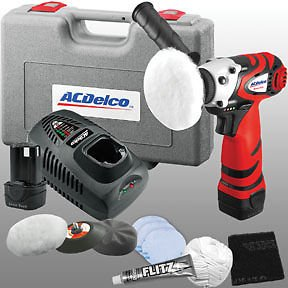 ACDelco ACD-ARS1210R, 12V Mini Polisher with Headlight Restoration Kit