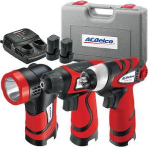 ACDelco ACD-ARZ8V14CSP Lithium-Ion 8V 3-In-1 Combo Kit
