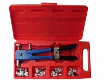 Blue Pneumatic R and D Hand Tool Kit BP-738K Metric