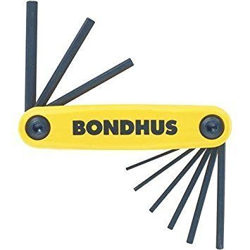 Bondhus BOS-12589 9-Piece Hex Key Set