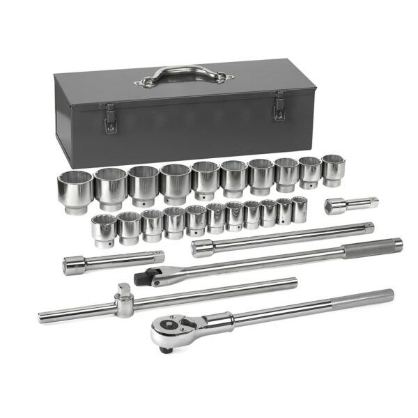 "GearWrench 27 Pc. 3/4"" Drive 12 Point Standard SAE Mechanics Tool Set GW-80880"