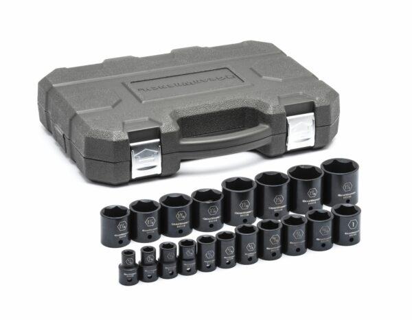 "1/2"" Drive 6 Point Standard Impact SAE Socket Set GW-84932N"