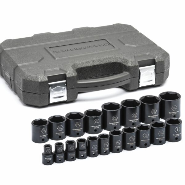 "1/2"" Drive 6 Point Standard Impact SAE Socket Set GW-84932N"