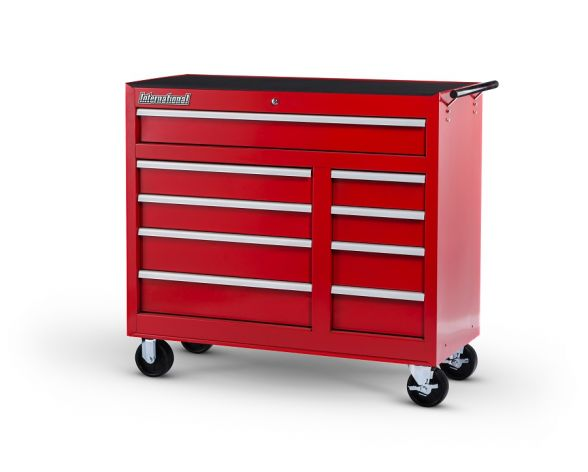 International SPG-WRB4209 WORKSHOP SERIES 42 IN. 9-DRAWER ROLLER CABINET