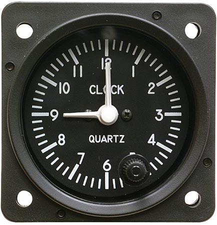 MD-90L, Model MD90 Clock, Electric, Quartz analog, Lighted