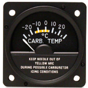 MD11-4, Model MD11 Carburetor Air Temperature Indicator, 28V