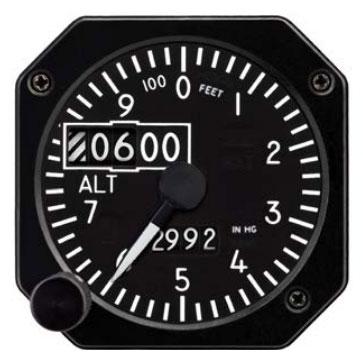 6420215-2, Model MD 215 Altimeter