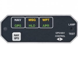 MD41-628, Model MD41 Annunciation Control Unit - 28V, Horizontal, With internal relay