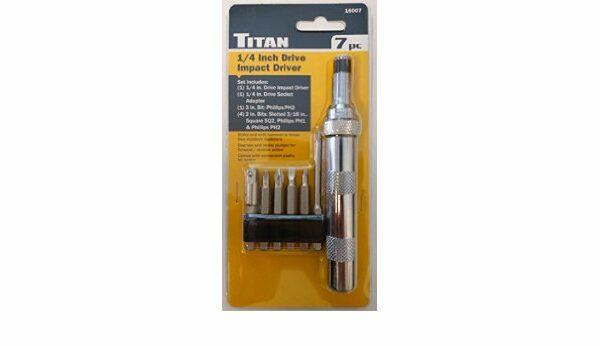 "Titan TIT-16007 1/4"" Drive Impact Driver"
