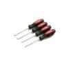 TEKZ 17710 - 4 PC. Precision Pick Set
