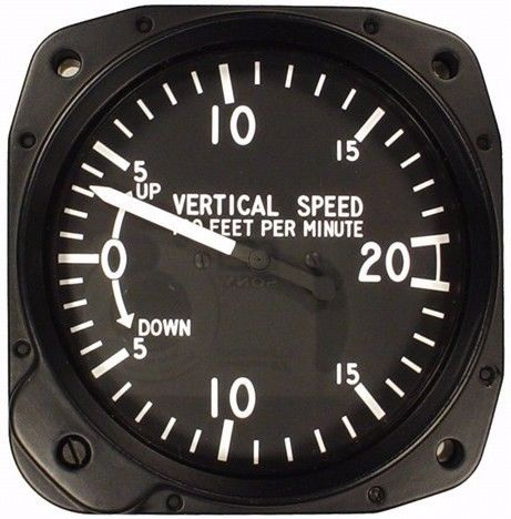 United Instruments 7000C.31 Vertical Speed Indicator, Model #: 7000