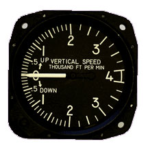 United Instruments 7030C.27 Vertical Speed Indicator, Model #: 7030