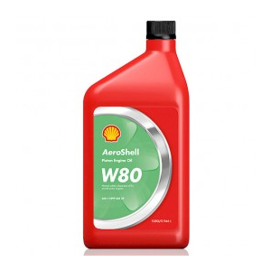 Aeroshell Aviation Oil W80