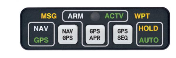 MD41-1048(5V), Model MD41, HTAWS Annunciation Control Unit - 28V, Horizontal, 5V lighting