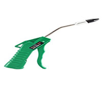 "Astro Pneumatic AST-1717, 4"" Air Blow Gun - Green with 1/2"" Removable Rubber Tip"